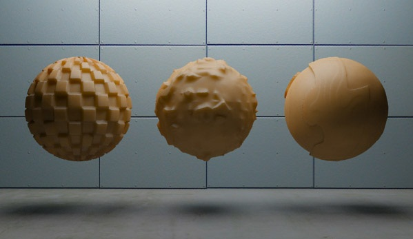 Шейдер 3D Displacement (mental ray) 3ds max