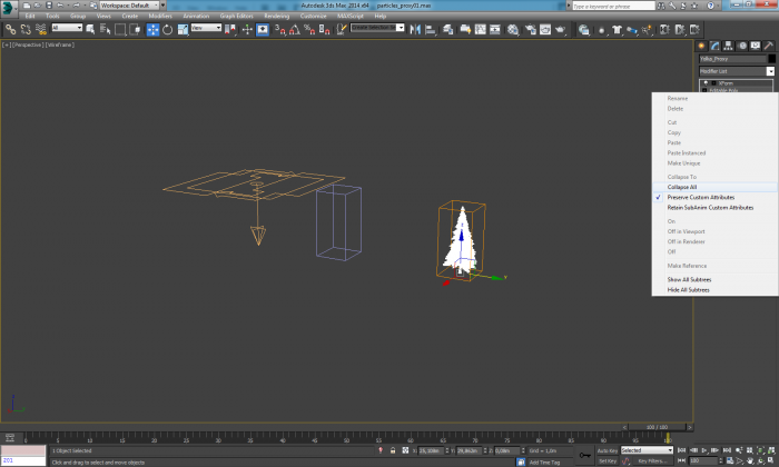 3ds max collapse all