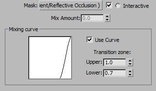 3ds max blend use curve