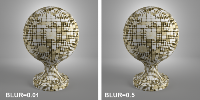 3ds max blur filtering